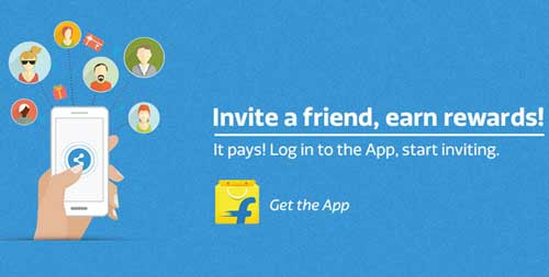 Flipkart Refer App Offer