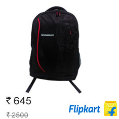 Lenovo Laptop Bags, Backpacks from Top Brands at 70% & More Buy Now