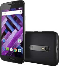 Moto G Turbo Edition Black 16 GB with 1 Year Warranty