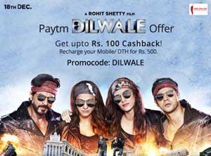 Paytm Dilwale Offer