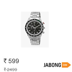 Unisex Watches at Jabong Rs 599