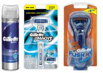 Gillette Products