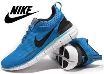 Get 90% Off on Nike OG Blue Black White Shoes for Men