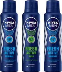 Nivea Deo: Buy 2 Nivea Deo and Get 1 Deo Free With 30% Cashback
