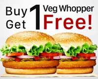 1 Veg Whopper