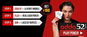 Adda52 Get Rs. 100 + Rs. 300 Bonus on Rs. 150 to Play Online Poker