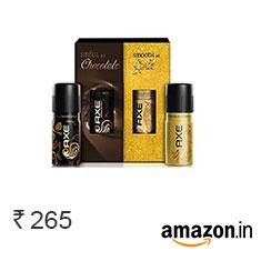 Axe Deodorant Combo Pack (Dark Temptation + Gold Temptation), 150ml x 2 Buy Now