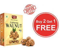 Dnature Fresh California Walnut Combo at 33% Off + Extra Cashback