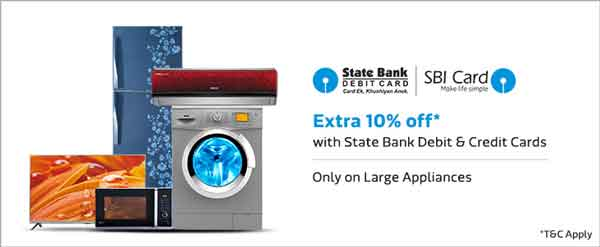Huge Discount on Flipkart Large Appliances