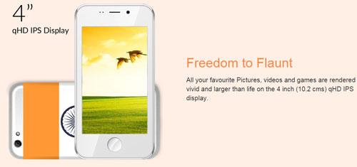 Freedom251 Screenshot 1
