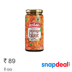 Kissan Orange Blast Jam 320 gm at 10% Off Buy Now