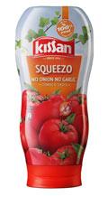 Kissan Squeezo No Onion No Garlic Tomato Sauce 450 g at 7% Off