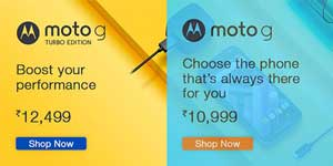 Moto G 3rd Gen and Turbo Edition now Available on Amazon