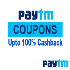 Paytm Coupons, Offers, Deals, Discount and Many More