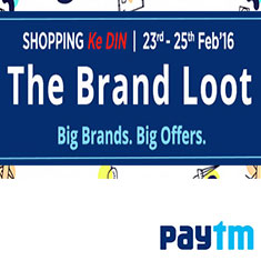 Paytm Shopping Ke DIN The Brand Loot Buy Now