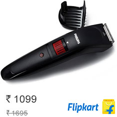 Philips QT4005-15 Trimmer Black Best In Class at 5% Off Buy Now