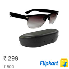 RE-MISH Wayfarer Sunglasses at 40% Off + Free Shipping Buy Now