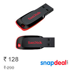 SanDisk Cruzer Blade USB Flash Drive 8GB Buy Now
