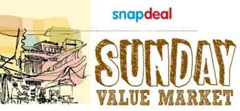 Snapdeal Sunday Value Market