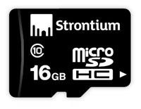 Strontium 16 GB Memory Card Class 10