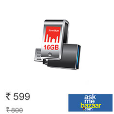 Strontium 16 GB Nitro Plus OTG 3.0 USB Drive at 25% Off Affordable Price