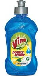 Vim Liquid Dishwash Antigerm 250 ml with Free shipping