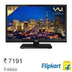 Vu 47 cm (18.5) HD Ready LED TV at Lowest Price Online Buy Now