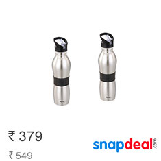 Buy 1 Get 1 Free Pigeon Playboy Sport Water Bottle at Rs. 379 Buy Now
