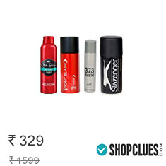 Combo of Old Spice Deo