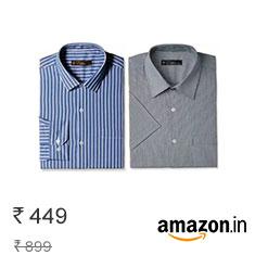 Elitus Men's Formal Shirts at 50% Off – Rs. 449 Buy Now