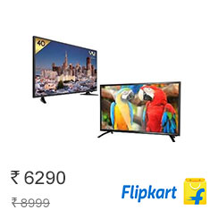 Flipkart Top Selling Televisions