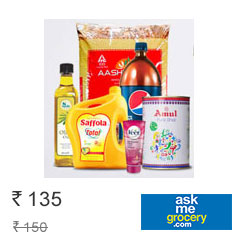 Get Flat Rs. 150 Off on Grocery + Extra 10% MobiKwik Cashback Get This Offer Now