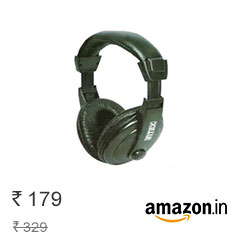 Intex Computer Multimedia Headphone