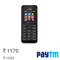 Nokia 105 Single Sim Phone