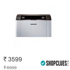 Samsung SL-M2021 Laserjet Printer + Extra Cashback (White) Buy Now