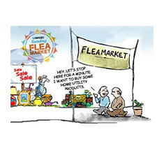 ShopClues Sunday Flea Market
