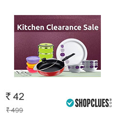 Shopclues Kitchen Clearance Sale