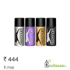 Slazenger Pack Of 4 Super Strong Deodorant Spray Buy Now