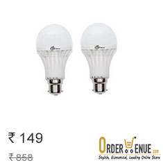 Enew 15 W LED Bulb Set Of 2