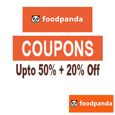 Foodpanda Coupons and Offers