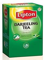 Lipton Darjeeling Tea Leaf Carton