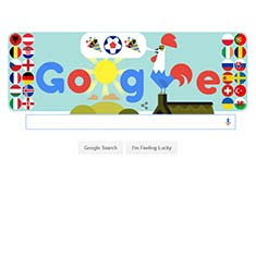 Google UEFA Doodle 2016