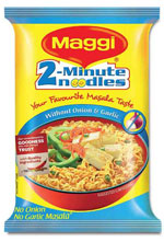 Maggi masala noodles pack