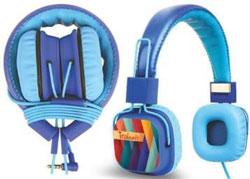 Headphone Blue Color