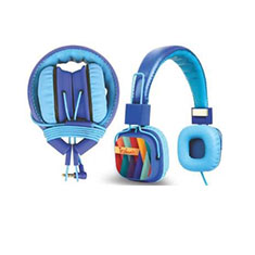 Amkette Tango Blue Headphone