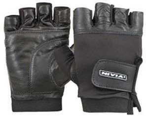 Nivia Leather Gym Gloves
