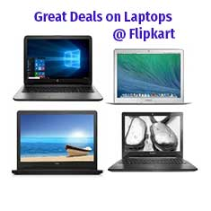 Flipkart Laptop Offers