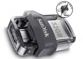 SanDisk Ultra Dual Drive 32GB OTG