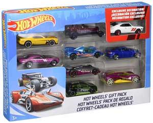 mattel hot wheels 9 car gift pack