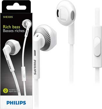 philips wired headset with mic